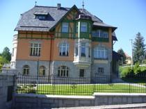S 1908 střešní krytina vila obec Žulova